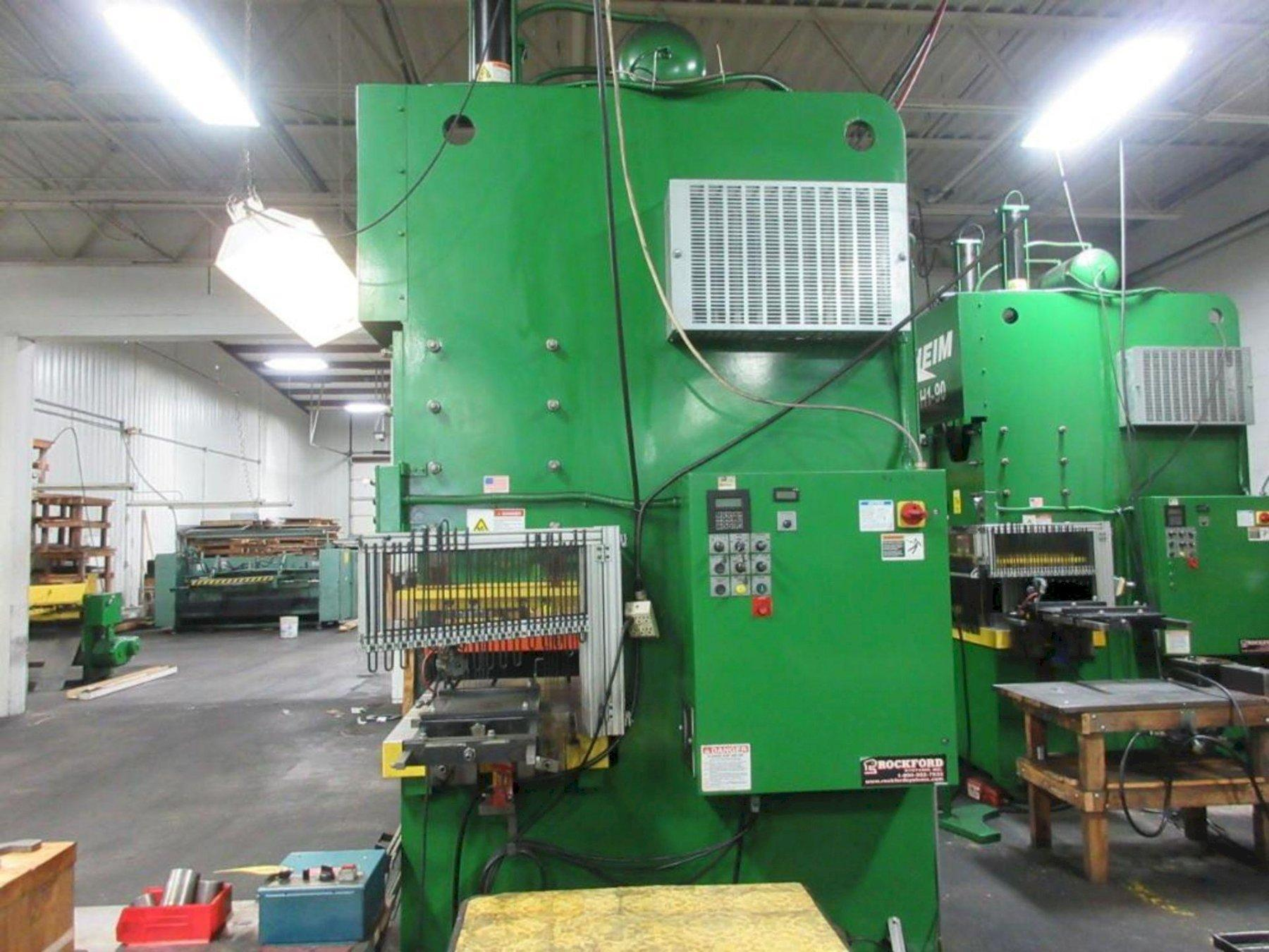 90 TON HEIM MODEL #G1-90FB  GAP FRAME PRESS: STOCK #73923