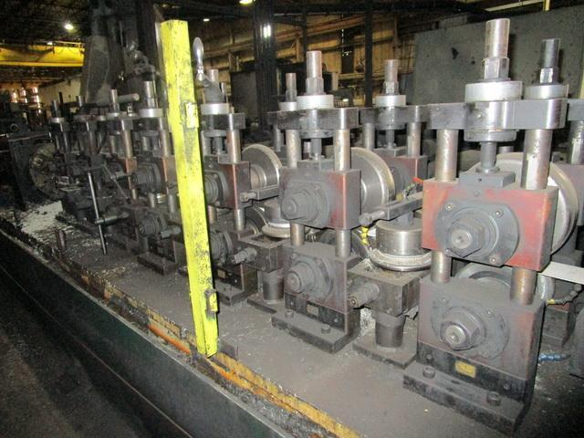 """2"""" x .135"""" Addison Machine/Elva Solid State Welder Tube Mill Line (2001)"""