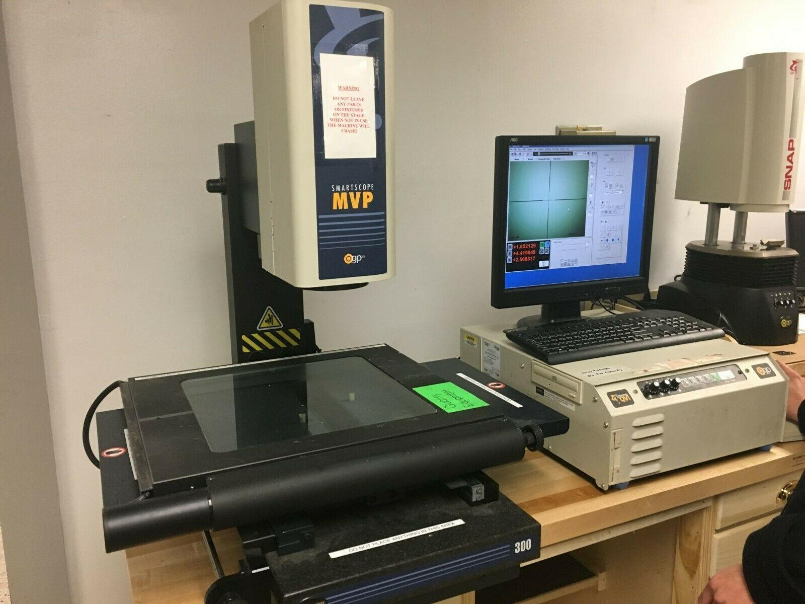 OGP Smartscope 300 MVP Automated Video Measuring Machine, S/N MVR3001227, New 2009.