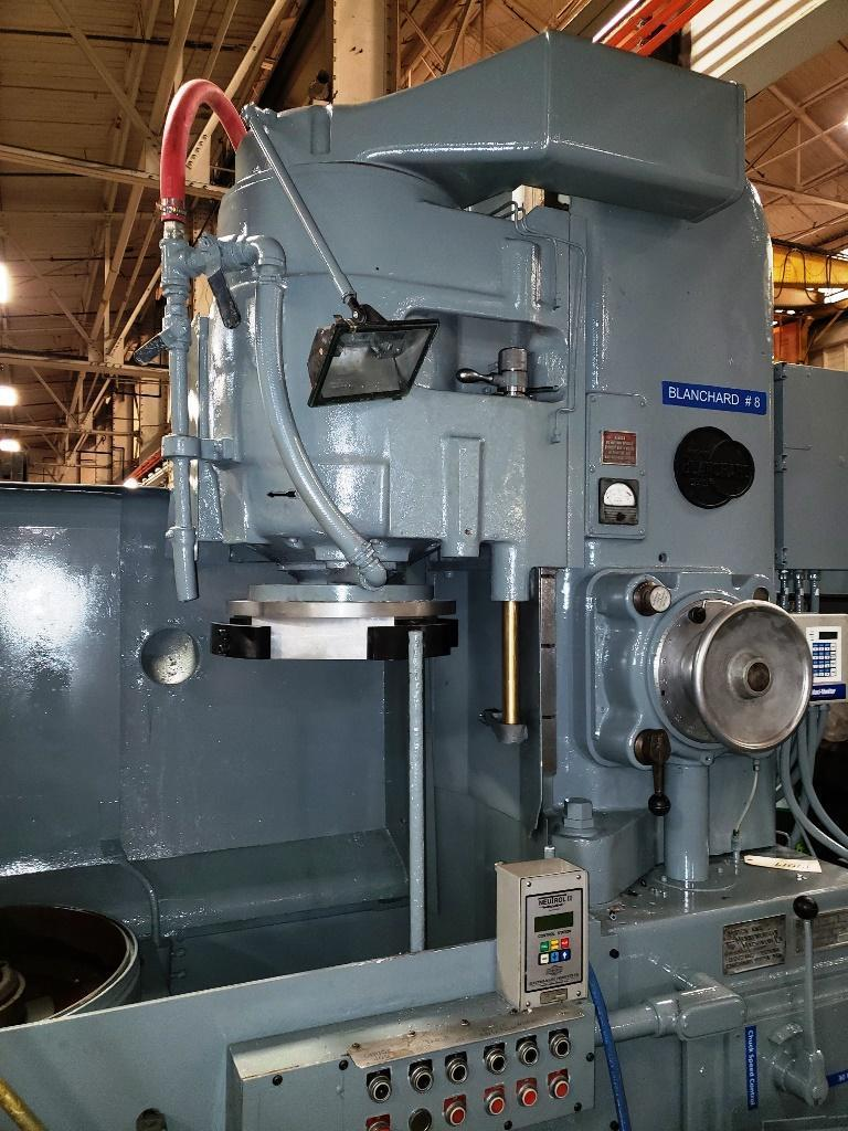 "Used Blanchard 20-36 Vertical Rotary Surface Grinder, '72, ""Certified"""