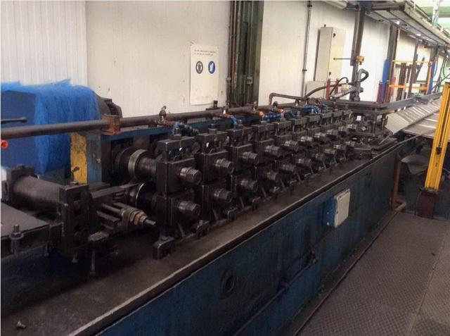 10 Stand Tresam P-45 Channel Complete Rollforming Line (2007)