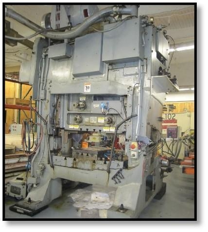Minster PM2-100-48 Straight Side High Speed Press