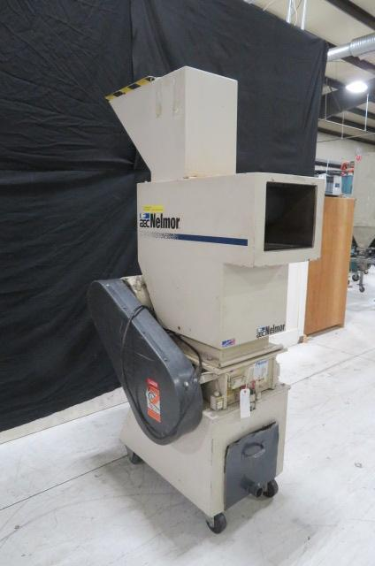 "Nelmor Used G1012P1 Granulator, 12""x10"" hand; 12""x11.5""robot, 10hp, 460V"