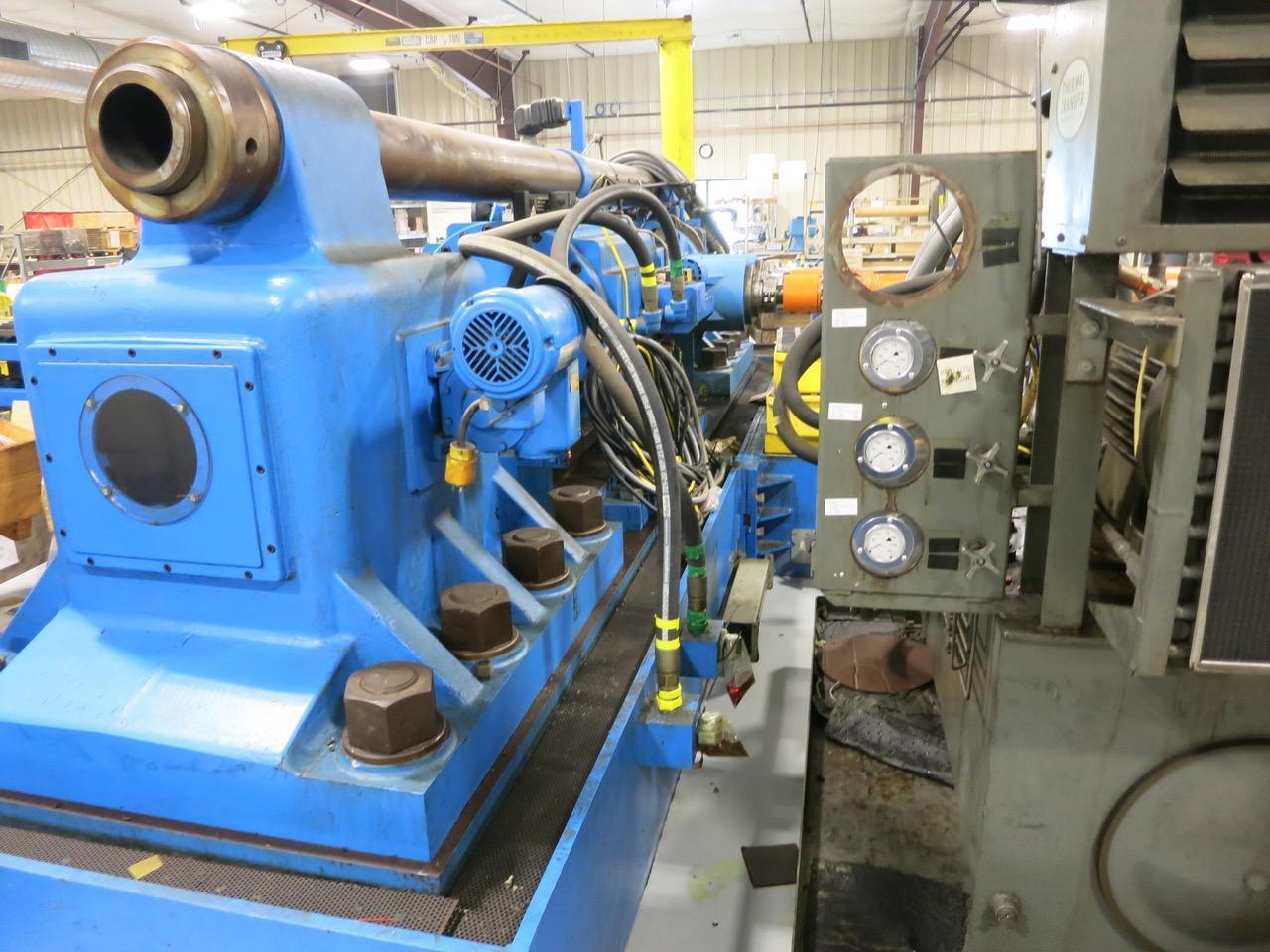 Tesker Model 840 Cylindrical Die Thread Roller Machine