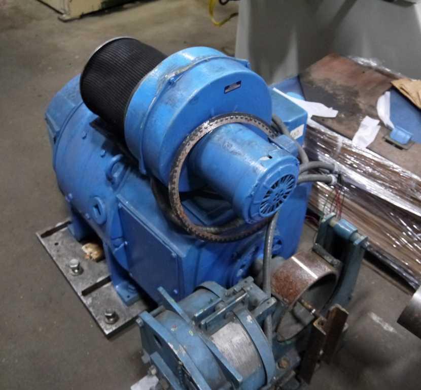Motor, 30 HP DC, GE