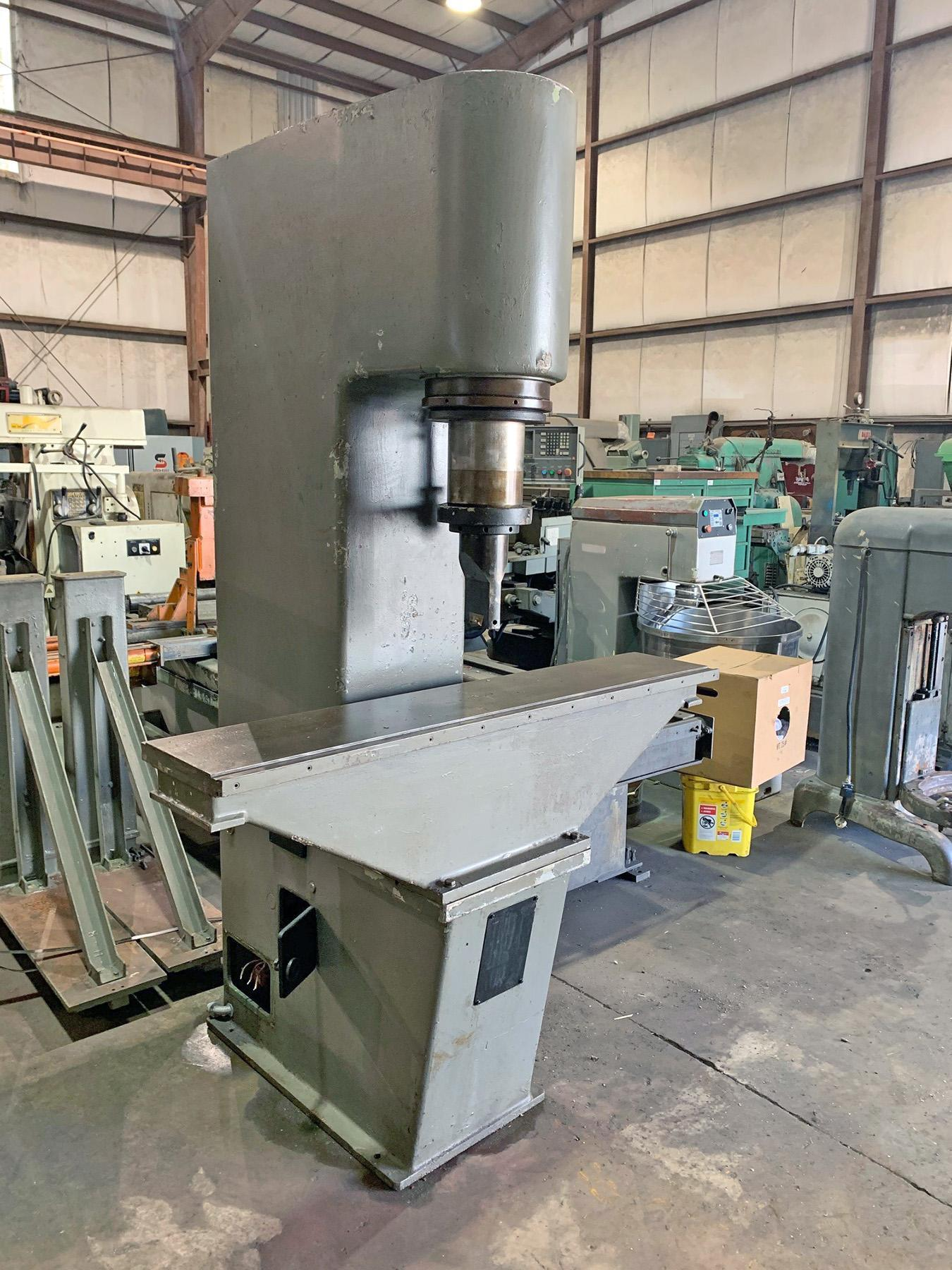 USED, 44 TON EITEL MODEL RP40 C-FRAME HYDRAULIC STRAIGHTENING PRESS