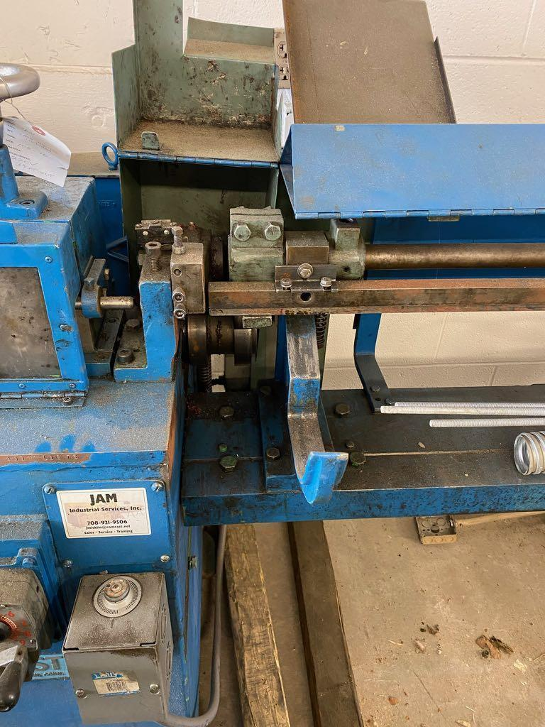 """3/16"""" Shuster Model 400V Wire Straightening and Cutting Machine"""