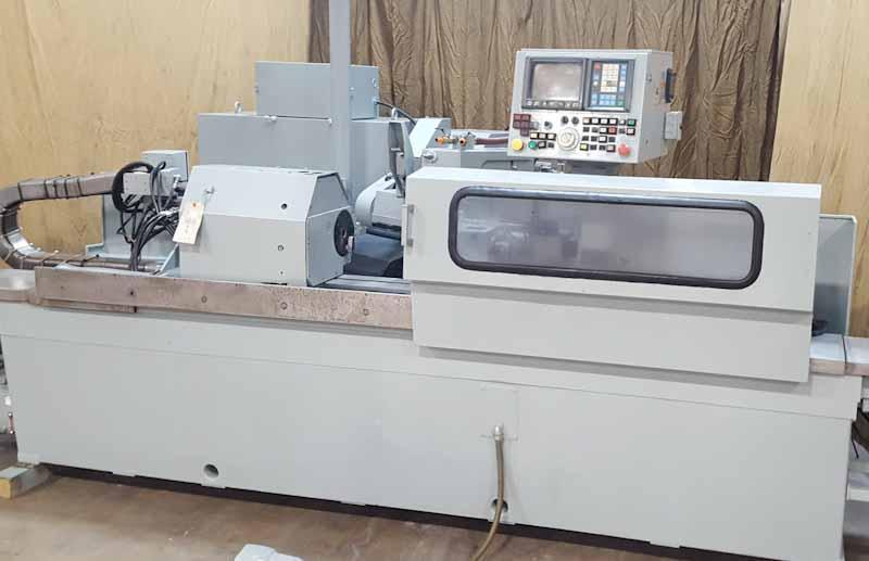 "12"" x 40"" Mitsubishi Model RB32 #100A CNC Angle Grinding Machine"