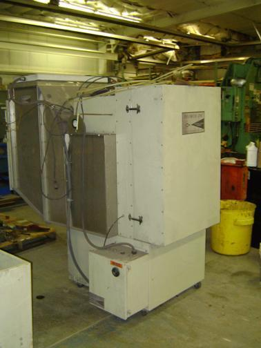 (1) PREOWNED DEIMCO POWDER PAINT BOOTH, MODEL # MD-1600, S/N: 109505, YEAR: 2008