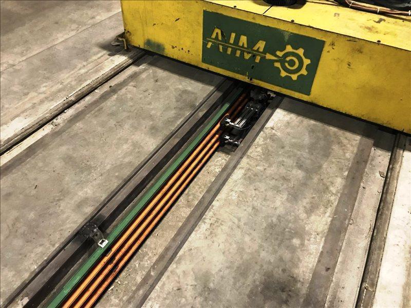 "KAMPF RKW-1003 69"" X 0.002""- 0.015"" ALUMINUM SLITTING LINE"