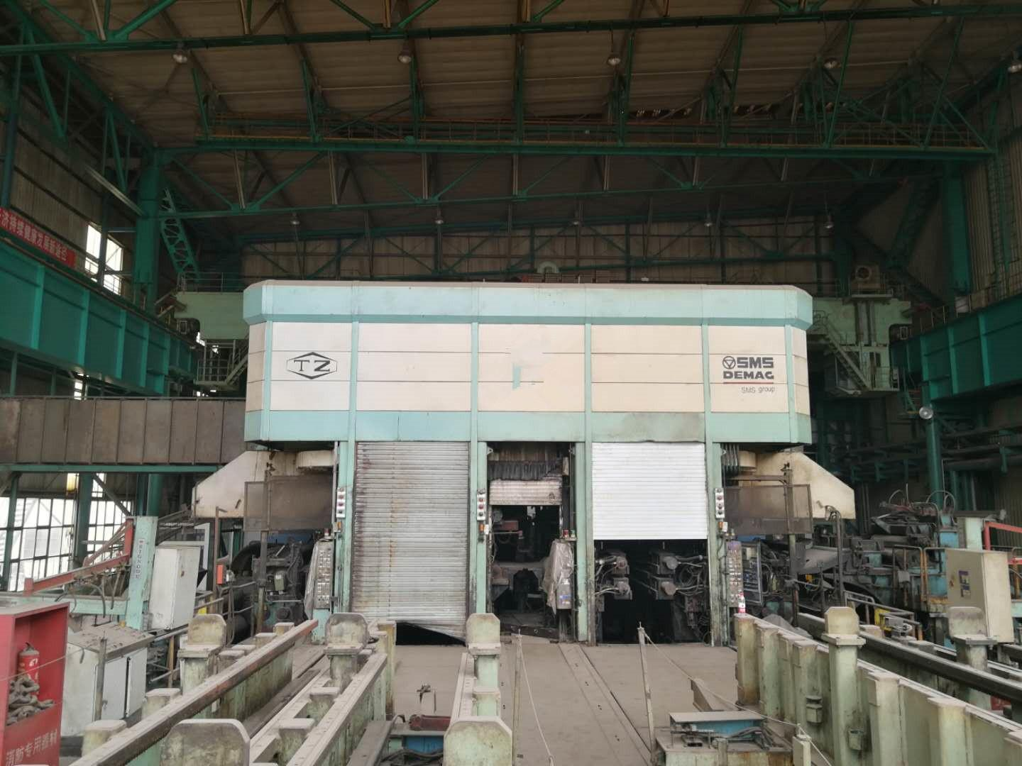 """65"""" (1650mm) 4-HI SMS Twin Stand Reversing Cold Rolling Mill (2006)"""