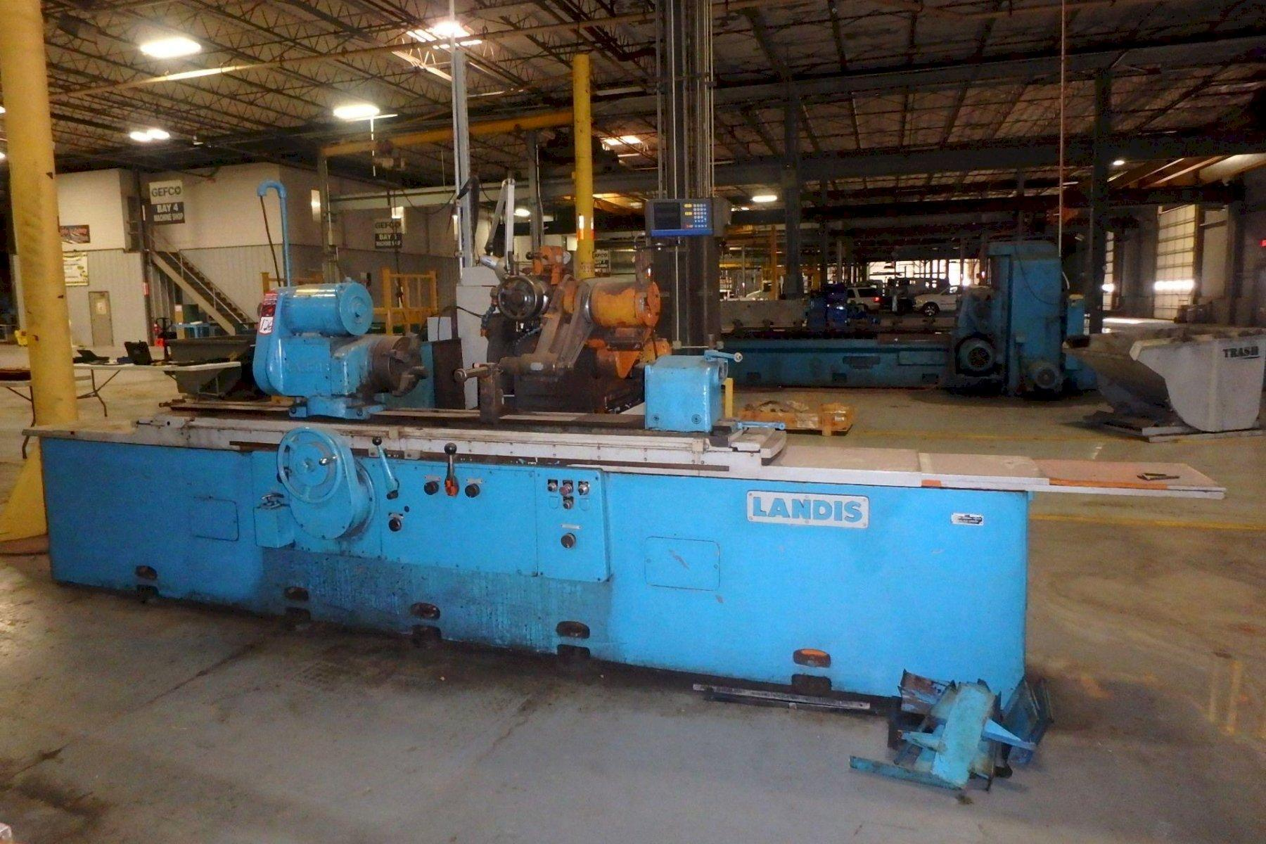 """14"""" x 72"""" LANDIS (MADE IN THE USA) PRECISION UNIVERSAL I.D./O.D. CYLINDRICAL GRINDER"""