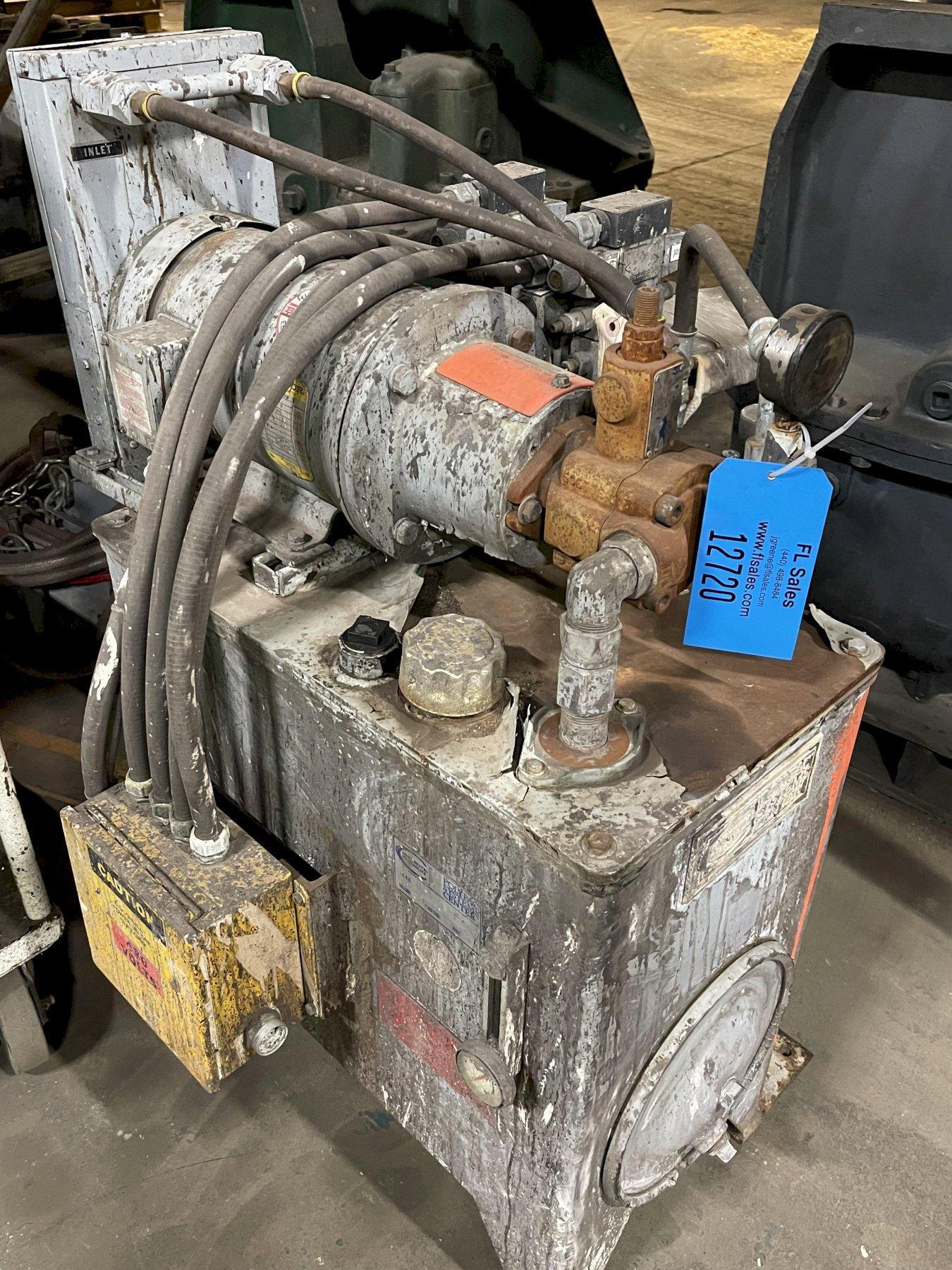 Hydraulic unit 5hp