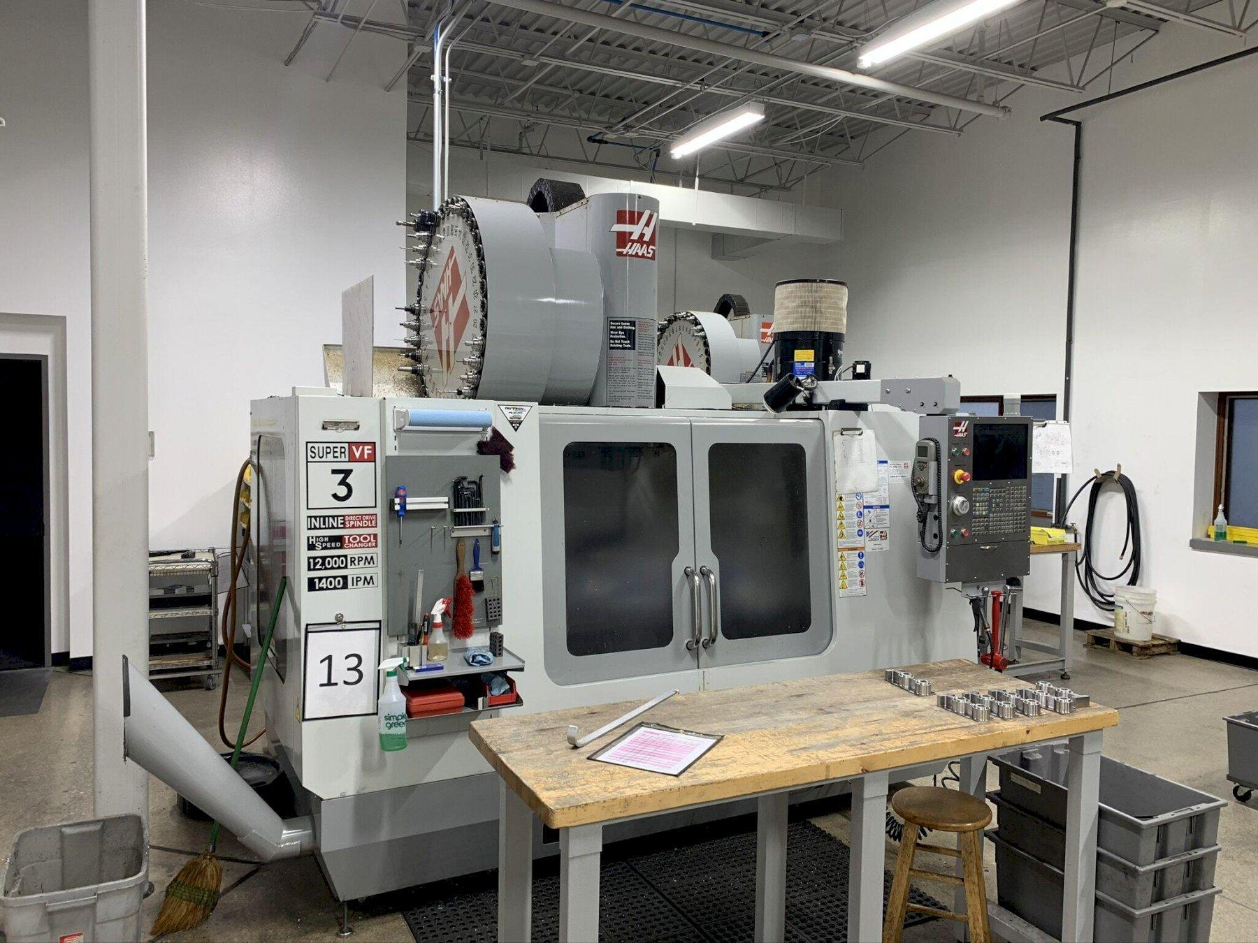 Haas VF-3SS Vertical Machining Center