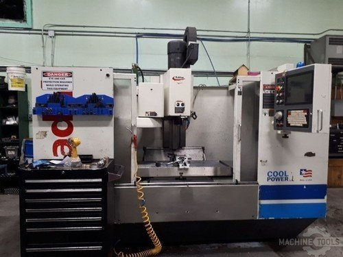 FADAL VMC4020HT CNC VERTICAL MACHINING CENTER w/CNC88HS, 10K Spindle, 21 ATC, 40