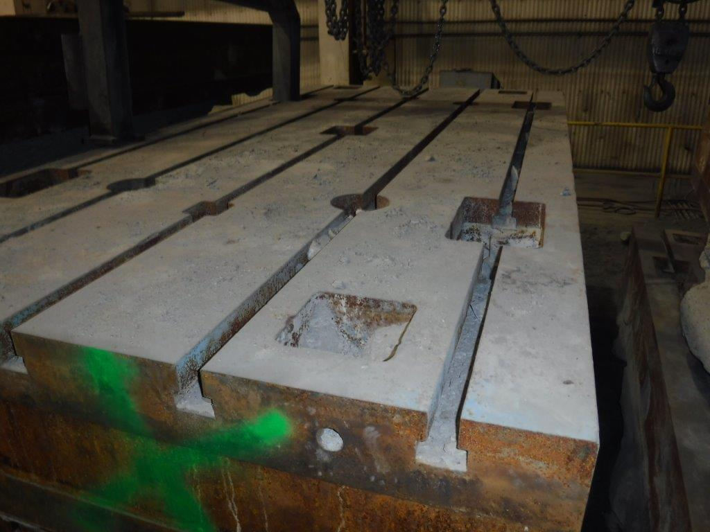 """60"""" x 120"""" x 16"""" T Slotted Floor Plates(6) available"""