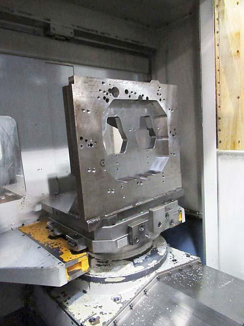 "MORI SEIKI SH-503, Fanuc 16i CNC Control, (2) 20"" Pallets, X=24.8"", Y=23.6"", Z=25.6"", Cat-50, 10,000 RPM, 60 Station Tool Changer, New 2002."
