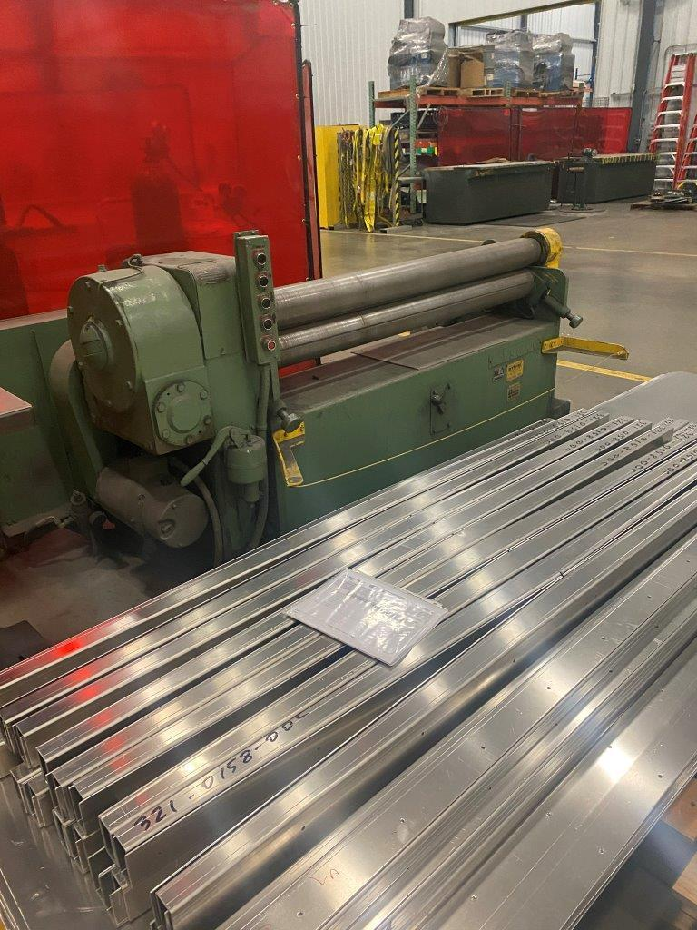 USED, 5' X 10 GAUGE WYSONG MODEL C60 PLATE ROLL