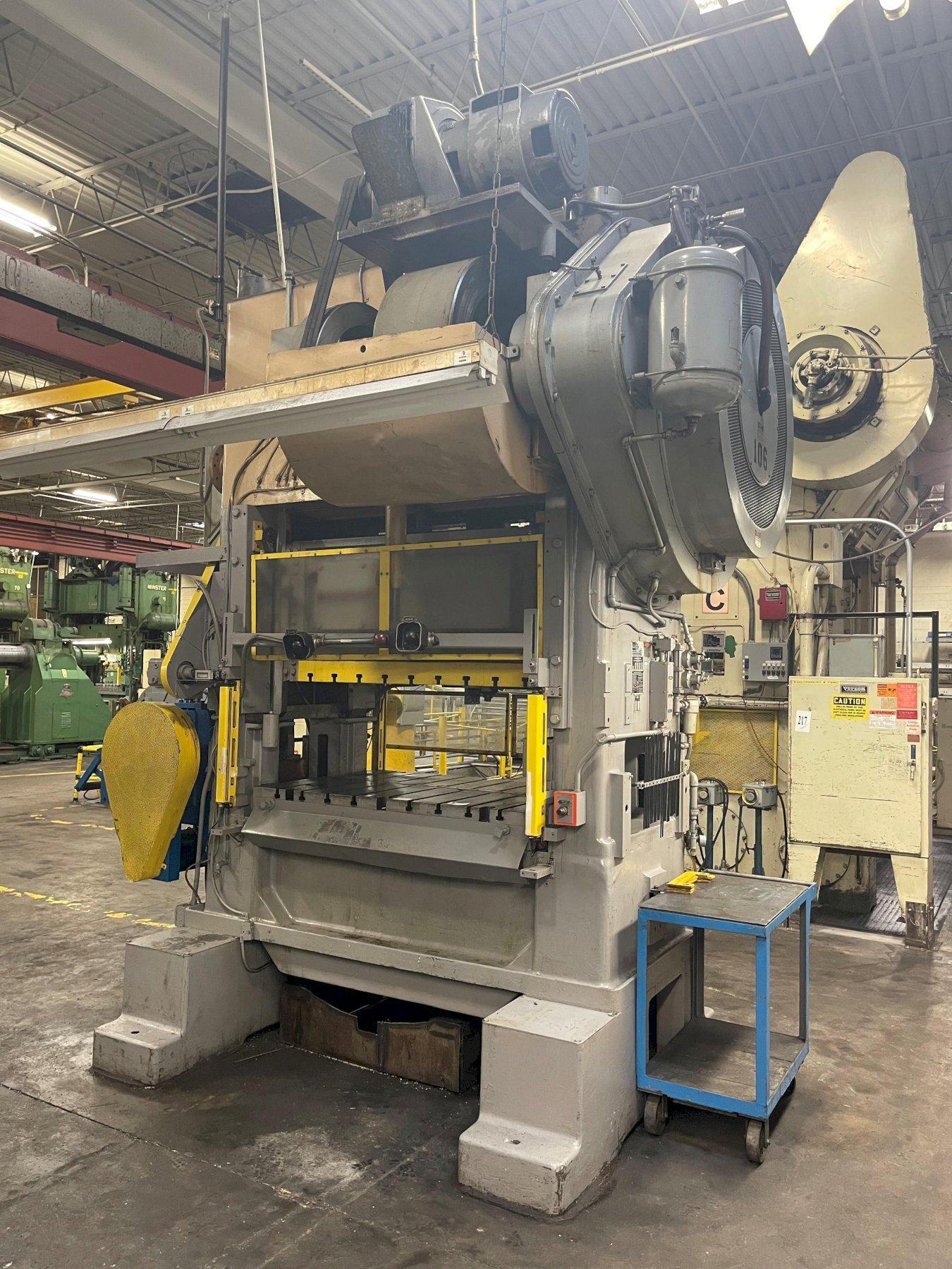 150 ton Minster P2-150-60 Piece-maker Highspeed Press