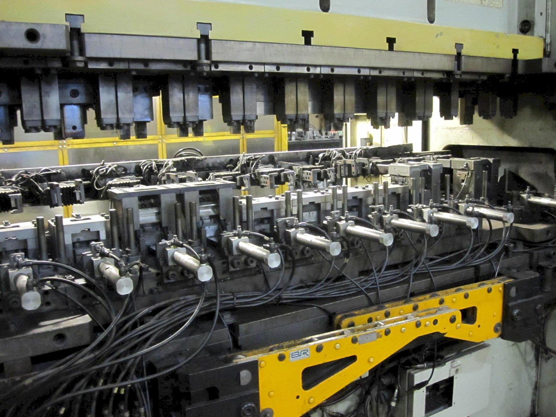 Komatsu Duel Servo Model H2W200 200T Straightside Press