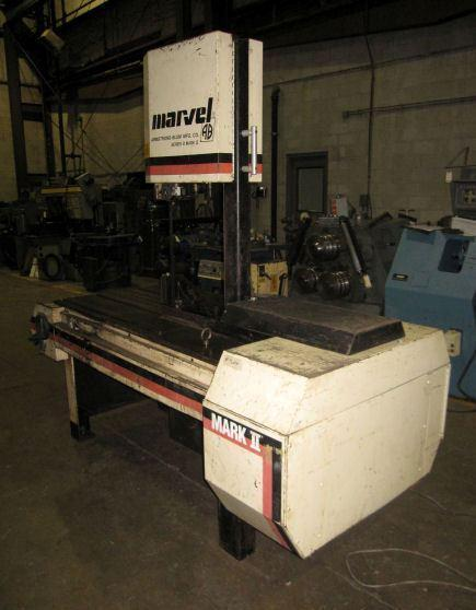 "18"" x 22"" MARVEL SERIES 8 MARK II VERTICAL BAND SAW"
