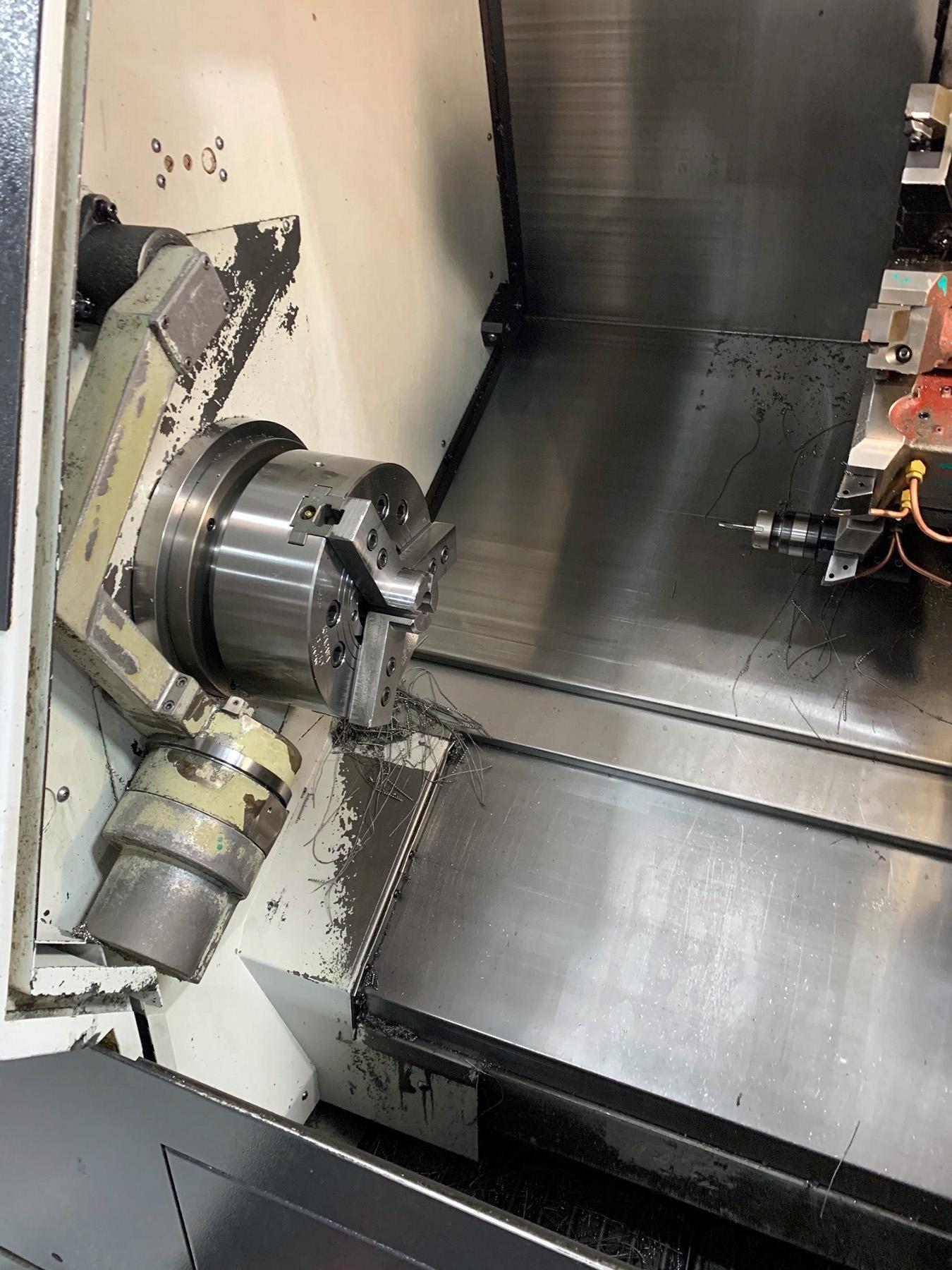 USED, MAZAK QTN 250 MS CNC LATHE