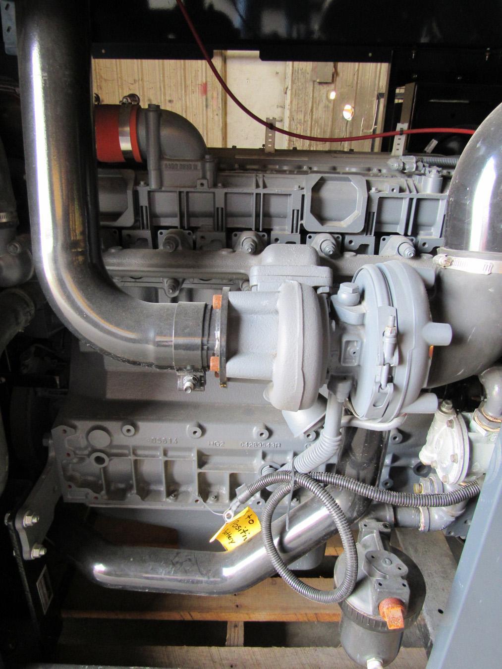 USED, 197 HP DEUTZ 2012 SERIES, MODEL TCD 2012 L06 2V, 6 CYLINDER DIESEL ENGINE POWER UNIT
