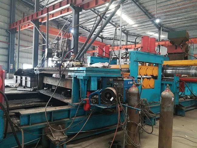 """125"""" (3200mm) x 22mm Spiral Pipe Mill (Year 2017)"""