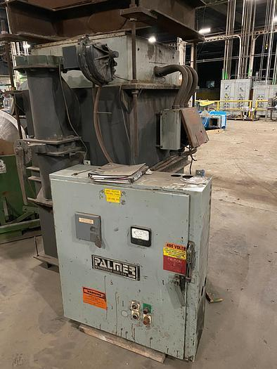 PLAMER MODEL H1500 1500# SAND HEATER WITH CONTROLS S/N H168