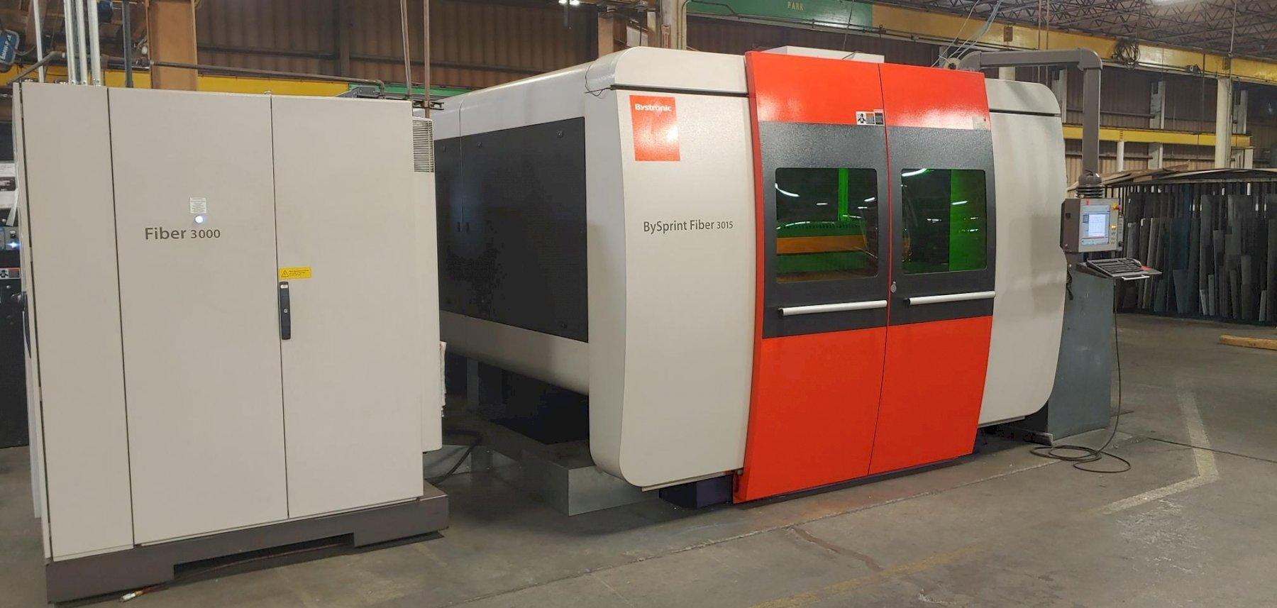 2015 Bystronic, Bysprint 3015, 5' x 10', 3000 Watt Fiber Laser