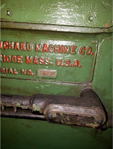 """Blanchard #11-16, 16"""" Vertical Spindle Rotary Surface Grinder"""
