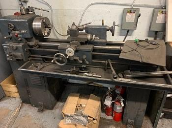 CLAUSING Mdl# 5914 LATHE   Our stock number: 115126