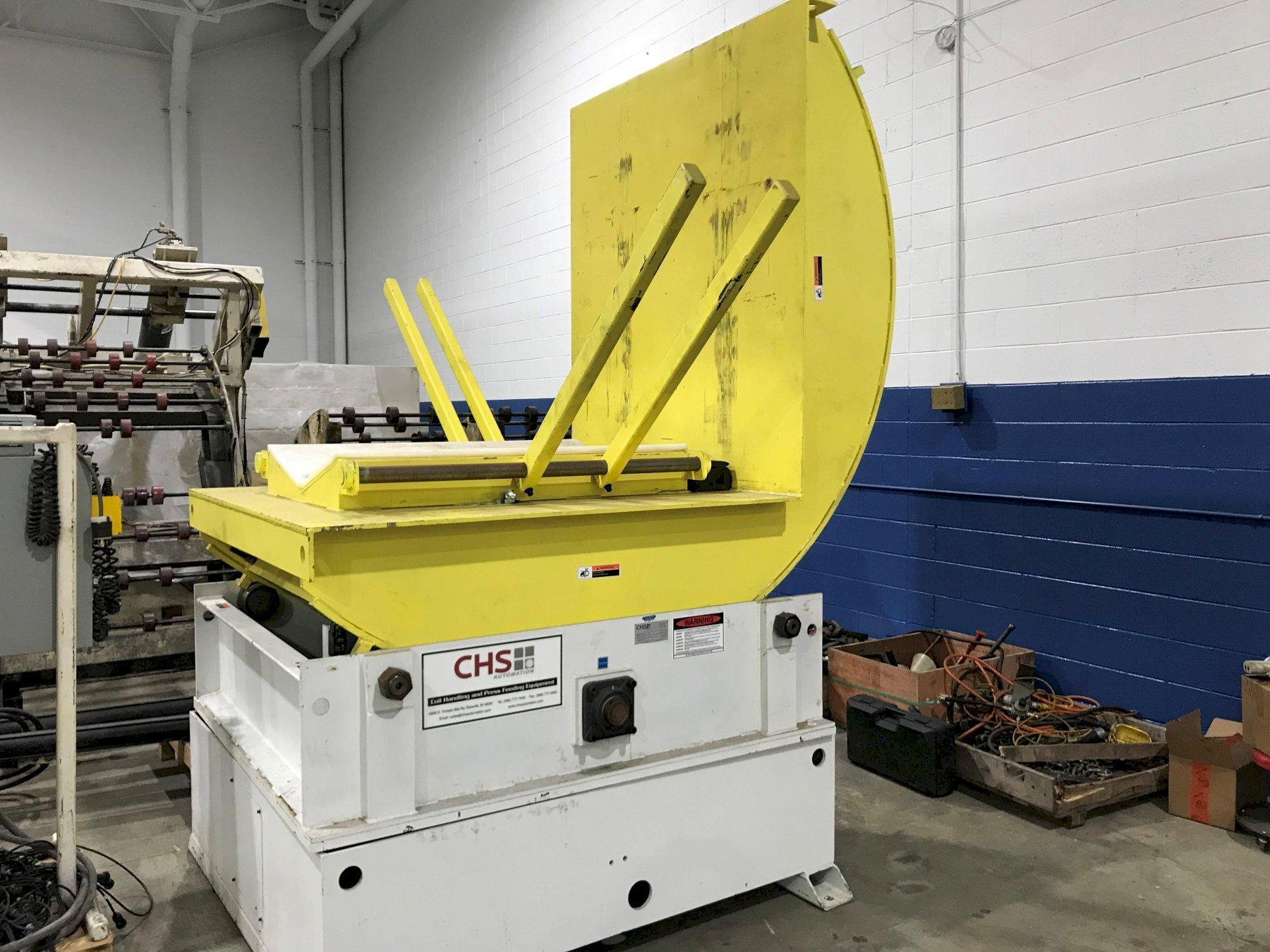 (T) CHS Automation Coil Upender 20,000 Lbs. Capacity (New Machine Never Put Into Production)