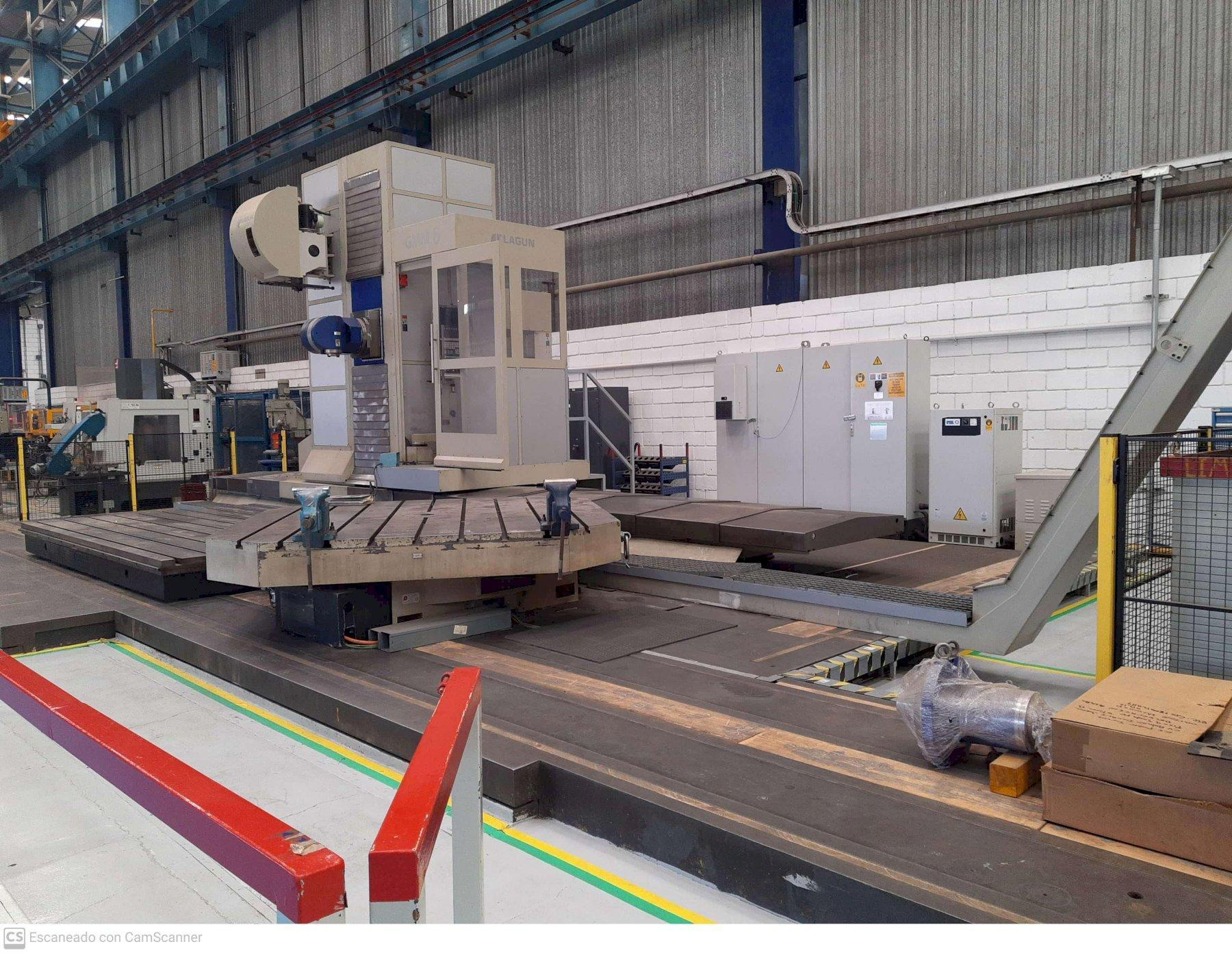 Goratu Lagun GMM 6 CNC Floor Type Boring Mill