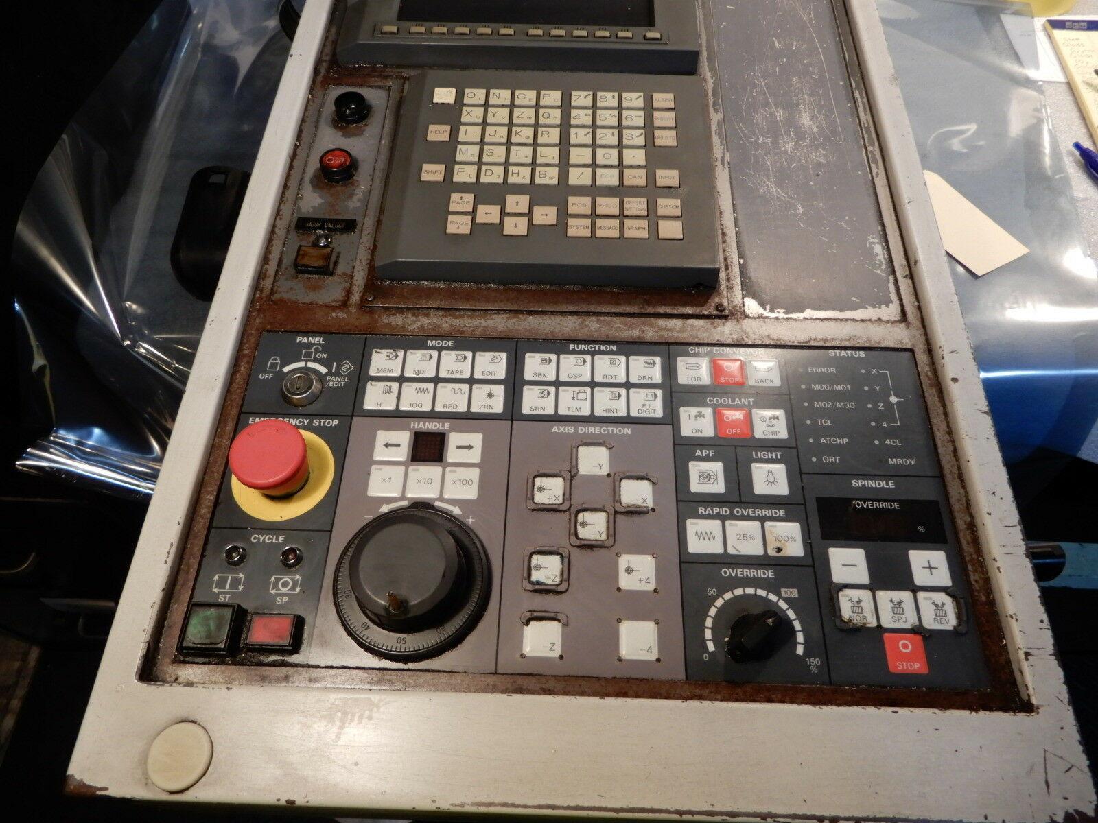 MORI SEIKI SV40 CNC OPERATORS UNIT, Model MSC 518CRT.
