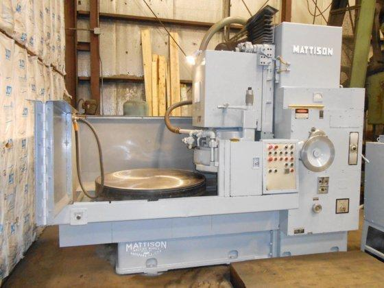 "48"" MATTISON MODEL 42-48 ROTARY SURFACE GRINDER"