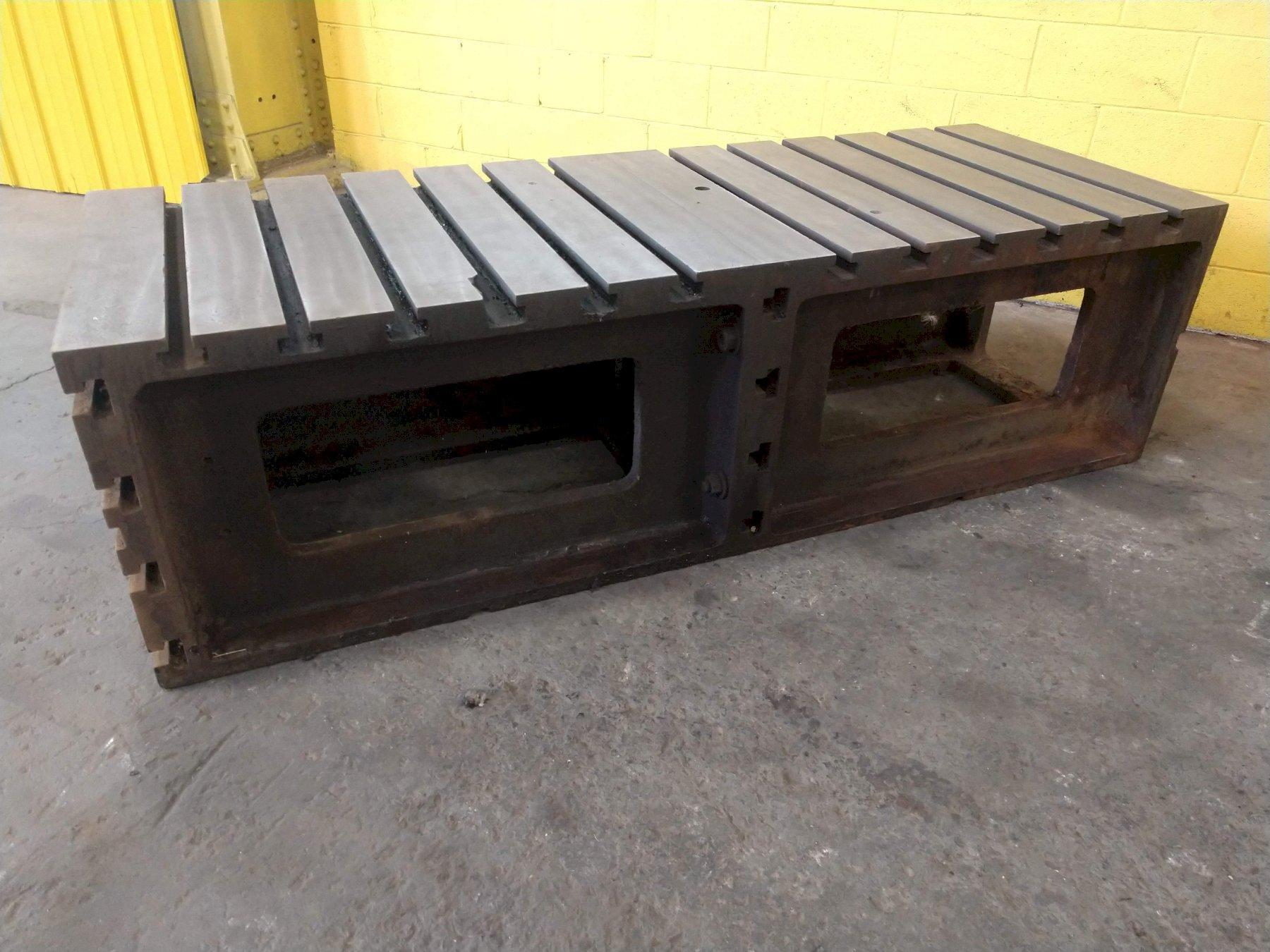 "32"" x 42"" x 24"" T SLOT BOX DRILL TABLE: STOCK 13837"
