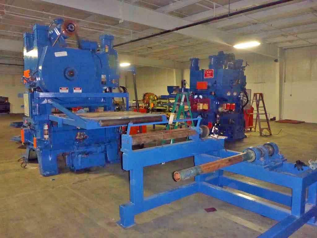 100 Ton Oak Fin Press Line