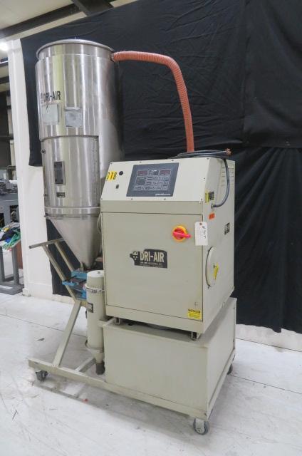 Dri-Air Used APD-7 Material Dryer, Desiccant, 75 lb / hr, Yr. 1998, 480V