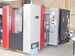 OKK HMC400 CNC Horizontal Machining Center, Fanuc 31iB, 15.75