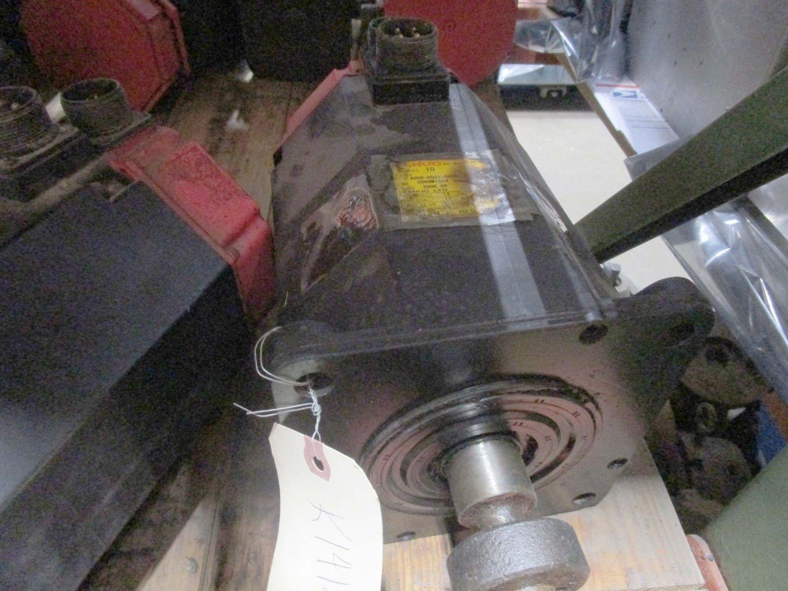 Fanuc Servo Motor Model 10 A06B-0501-B006 #7073