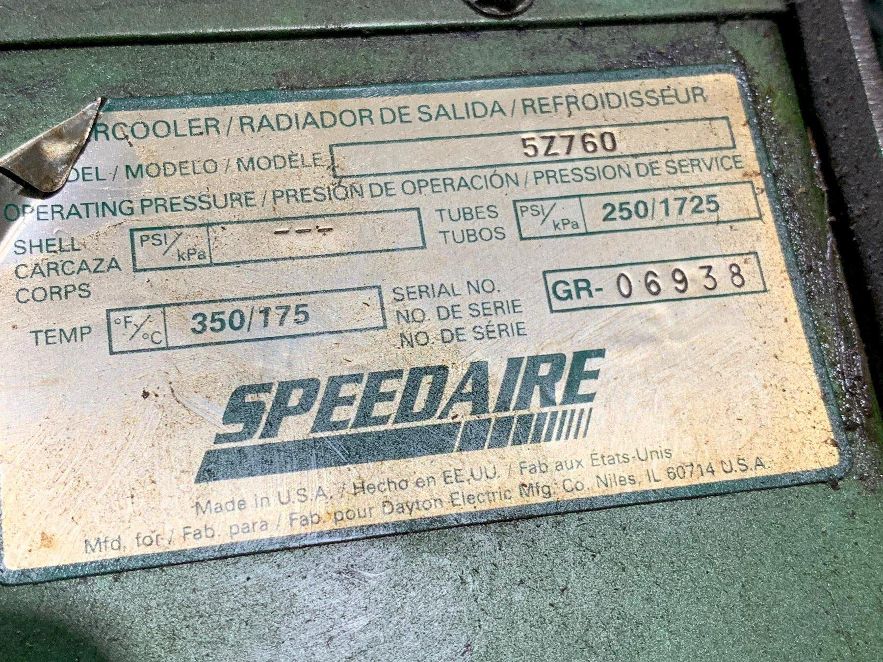Speedaire Air Dryer