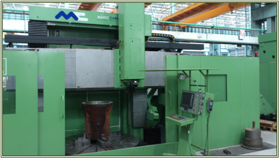 Mario Carnaghi CNC Vertical Boring Mill