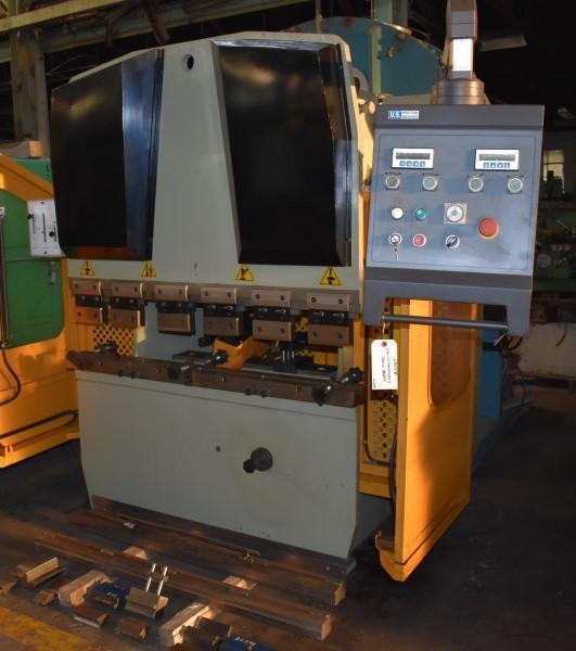 22 TON X 4' U.S. INDUSTRIAL MODEL US224M CNC HYDRAULIC PRESS BRAKE