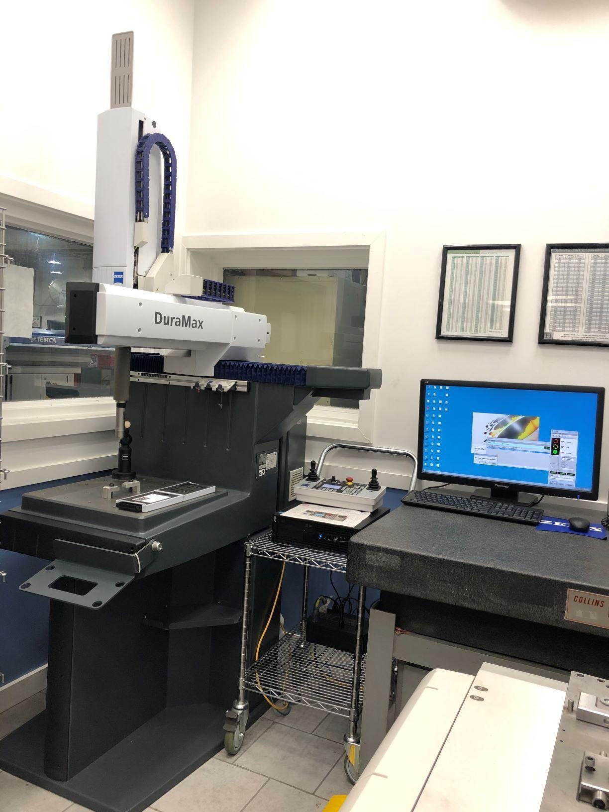 Zeiss Duramax 5/5/5 Coordinate Measuring Machine (CMM), Vast XXT TL3 scanning probe head