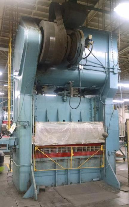 250 TON VERSON SSDC PRESS: STOCK #71069