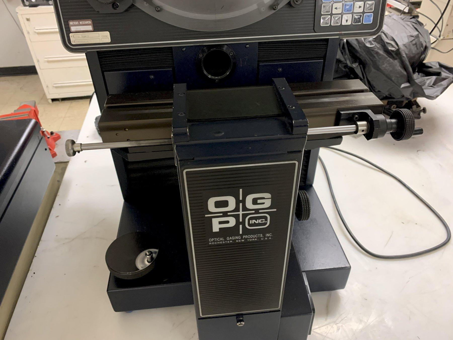 """14"""" OGP TB14 """"Top Bench"""" Optical Comparator, S/N TB08061472."""