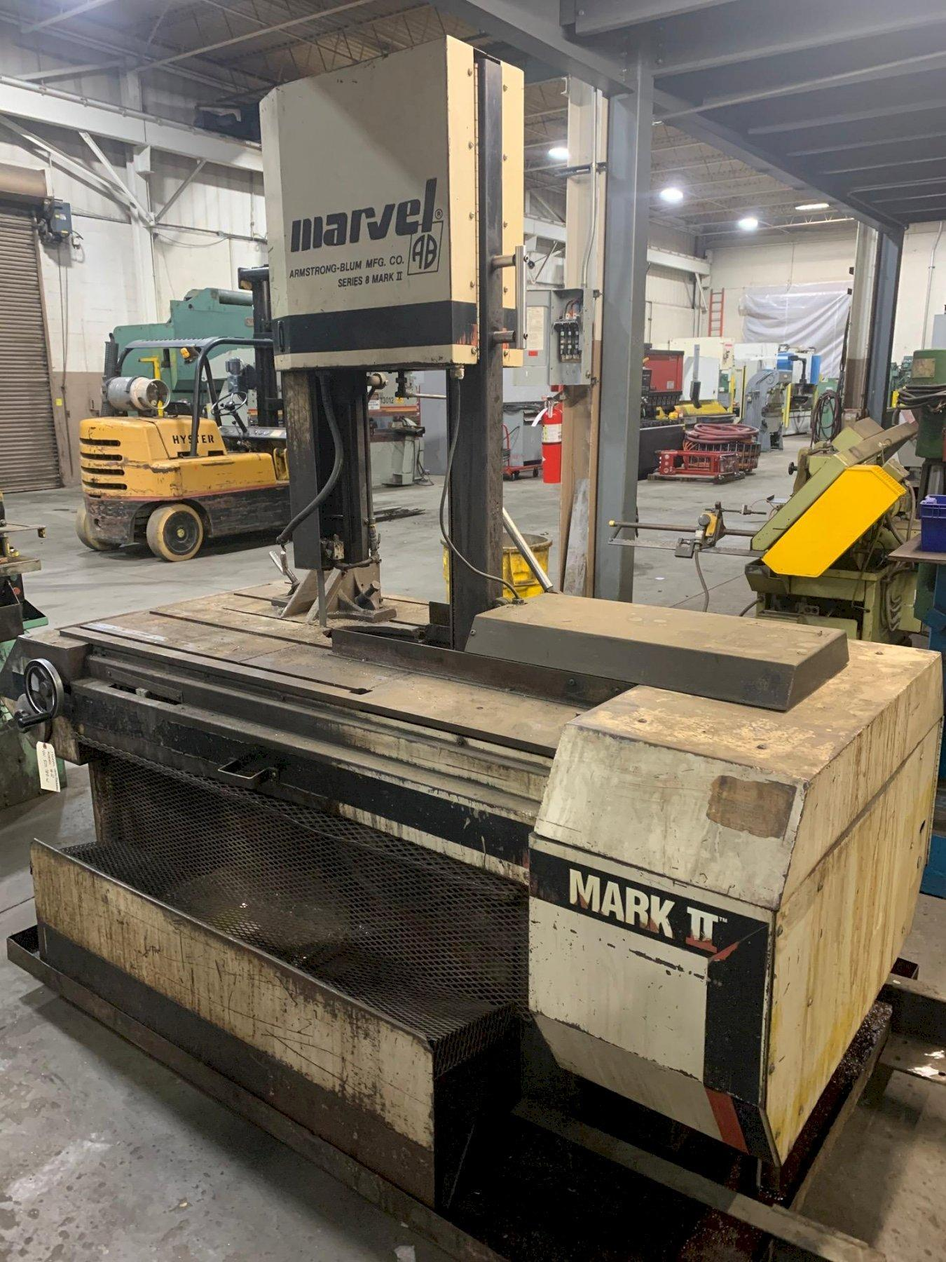"USED MARVEL VERTICAL BANDSAW MODEL 8 Mark II, 18"" x 22"", Stock No. 10666, YEAR 1990"