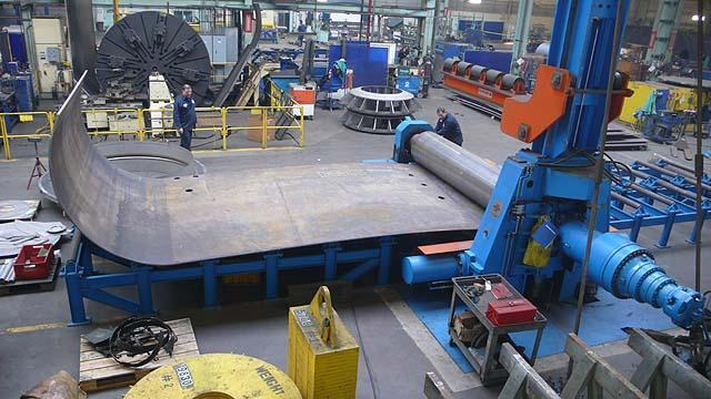 "10' x 3"" SERTOM 3 ROLL HYDRAULIC PLATE ROLLS, Model 30-60, 3-roll, 26""top roll, 22""side rolls, 109 HP, Siemens S7 PLC, New 2011."