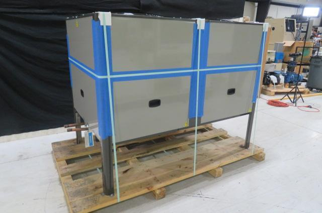 AEC GPRC-70 20 ton Package Remote Cooled Chiller, Yr. 2014 & RC90 Remote Central Condenser, Yr. 2017 - New Condition